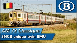 Namur to Liège onboard a SNCB Classique from 1973!