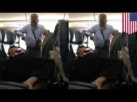 Mike Dellinger - Husband of the Year: Guy Stood for 6 Hours on a Plane As His Wife Sleeps