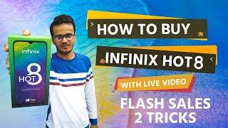 How To Buy Infinix Hot 8 | infinix Hot 8 | Flash Sales Tricks | Auto Buy Extension | Infinix Hot 8