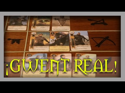 GWENT / GWYNT REAL !! || The Witcher 3 || Vlog
