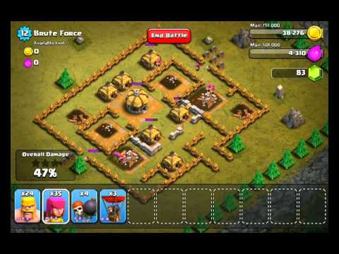 Clash of Clans Level 11 - Brute Force
