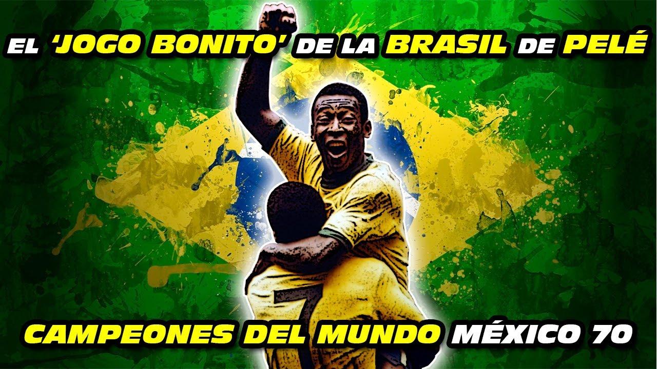 El 'Jogo Bonito' de la BRASIL 🇧🇷 de PELÉ 🏆 (Campeones del Mundo México 🇲🇽 1970)