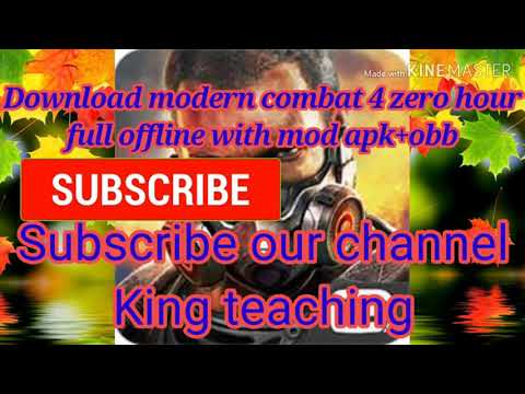 How To Download Modern Combat 4 Zero Hour Mod Apk+obb For Free