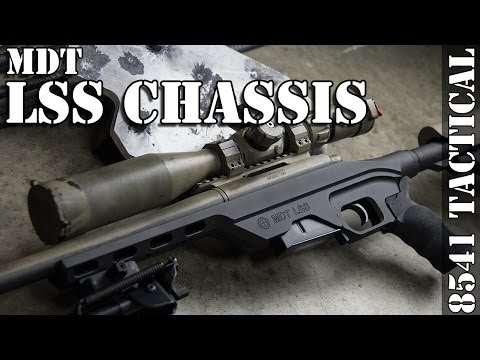 MDT LSS Chassis installation on Remington 700 Short Action .308