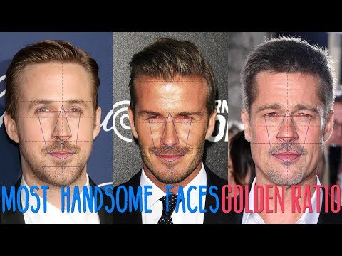 Top 10 Most Handsome Male Celebs According To The Golden Ratio 2017