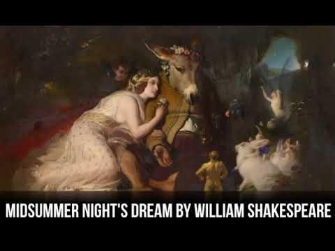 Midsummers Night Dream by William Shakespeare (Audiobook)
