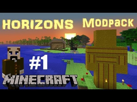 Minecraft S3: Horizons pack Ep 1: An almost fresh start