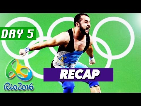 Rio Olympics 2016 Highlights, Best Moments, Results (Day 5 - August 10, 2016)