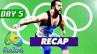 Rio Olympics 2016 Results, Highlights, Best Moments (Day 5 Recap - August 10, 2016)