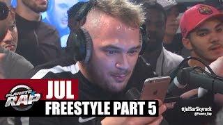 Jul en freestyle dans Planète Rap [Part 5] #Ovni