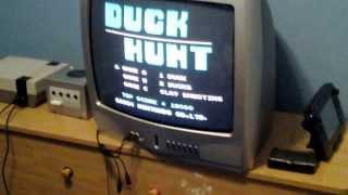 Nintendo Entertainment System setup