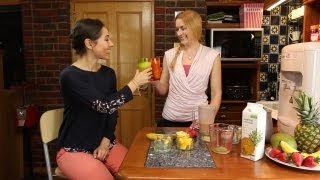 The perfect Power Shake Smoothie with Pregnancy fitness experts FITTAMAMMA!!