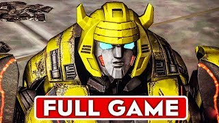 TRANSFORMERS FALL OF CYBERTRON Gameplay Walkthrough Part 1 FULL GAME [1080p HD] - No Commentary