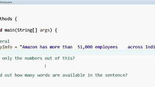 Regular Expression in Java