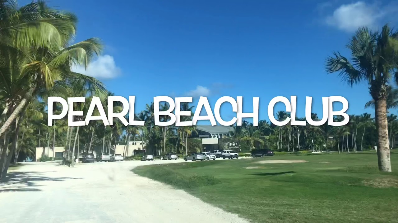 Pearl beach club and restaurant. Wedding venue in Punta Cana, Dominican Republic