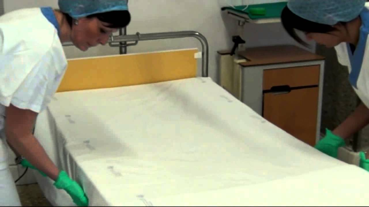 Angolo Letto Ospedale : Rifacimento letto vuoto youtube