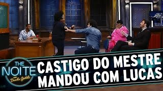 The Noite (25/06/15) - Castigo do Mestre Mandou com Lucas Moura