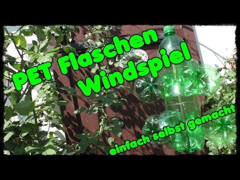 Pet Flaschen Windrad Basteln Diy Vogel Und
