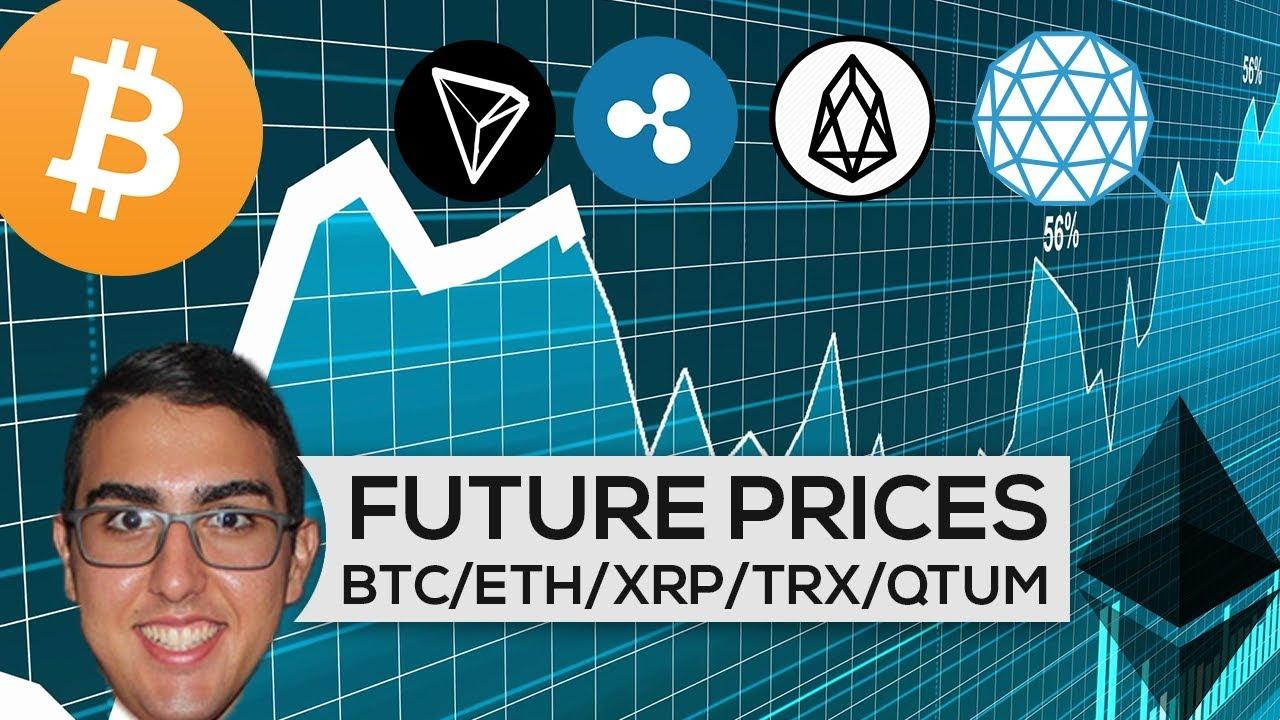 Future Prices: Bitcoin ($BTC), Ethereum ($ETH), Ripple ($XRP), Tron ($TRX), EOS ($EOS), Qtum ...