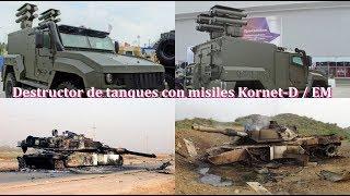 Siria se recrudece la guerra y Rusia ha entregado el destructor de tanques Kornet-E M a Siria