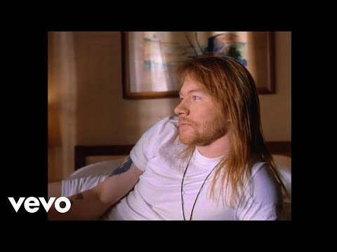 Guns N' Roses - Since I Don't Have You (Official Music Video)