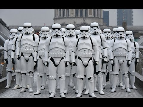 CANT STOP THE FEELING!  Justin Timberlake Stormtroopers Dance Moves & More PT 9