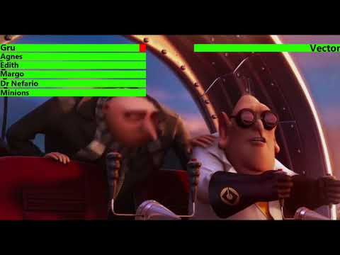 Despicable Me Gru vs Vector #3 Final...