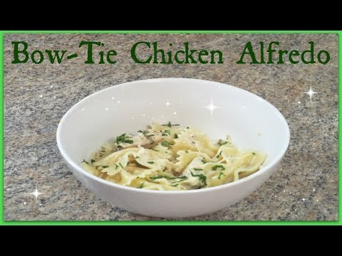 Bow Tie Chicken Alfredo - Pioneer Woman Recipe!