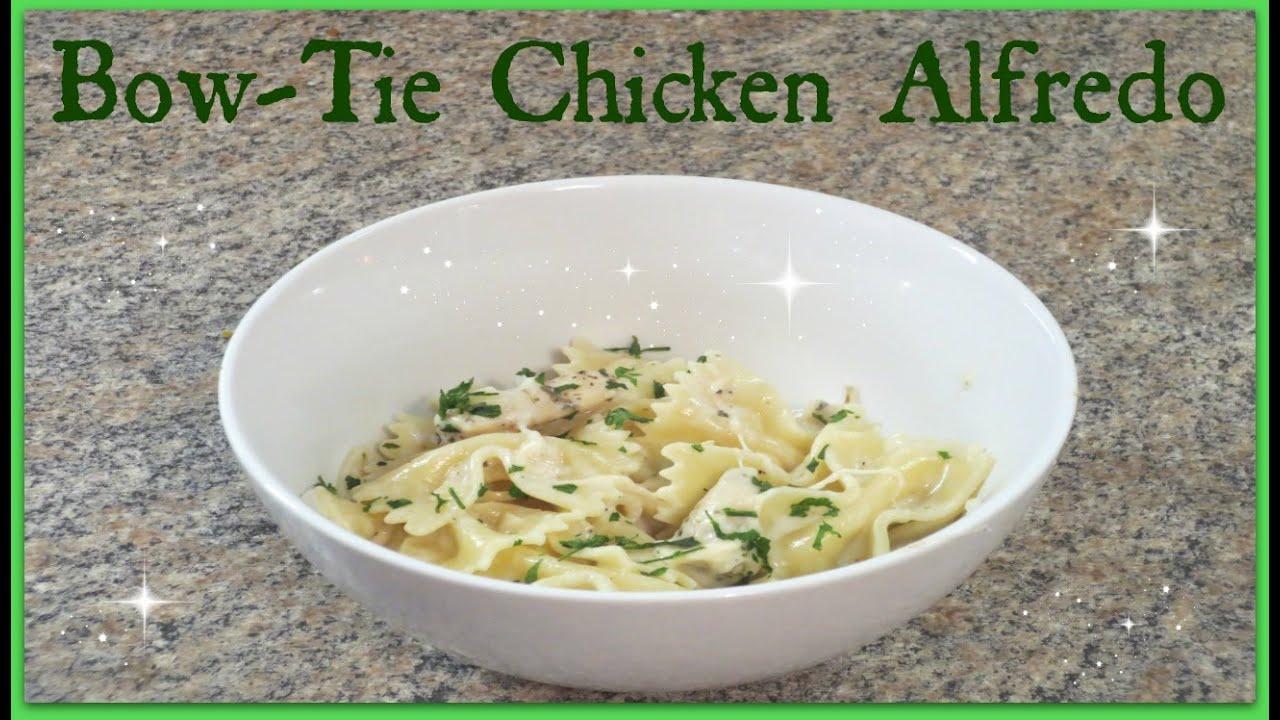 Bow Tie Chicken Alfredo Pioneer Woman Recipe Youtube