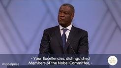 Denis Mukwege: Nobel Peace Prize lecture 2018 (English subtitles)