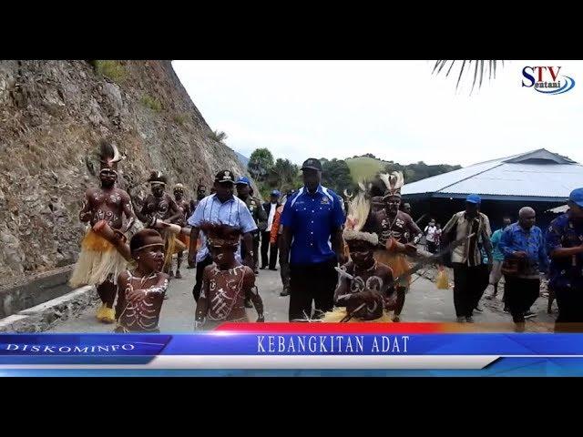 Peresmian Sekolah Adat Kabupaten Jayapura. | KEBANGKITAN ADAT