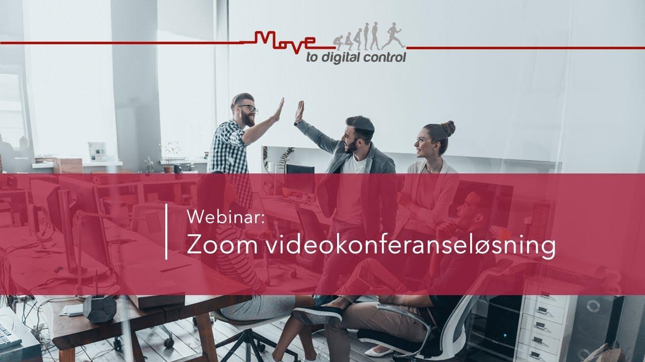 Zoom videokonferanseløsning