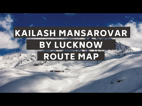 Kailash Helicopter Lucknow Route Map