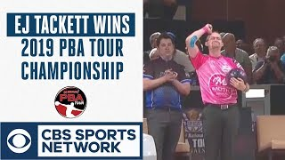 Download EJ Tackett edges Butturff in roll off to win 2019 PBA Tour Finals, Full Highlights | CBS Sports Mp3 and Videos