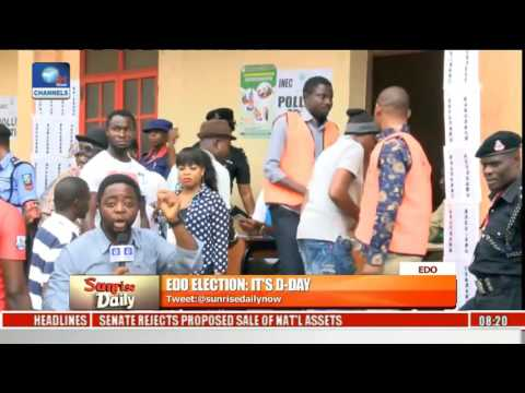 Edo Election: Voting Ongoing At St. James Anglican Primary School In Benin City