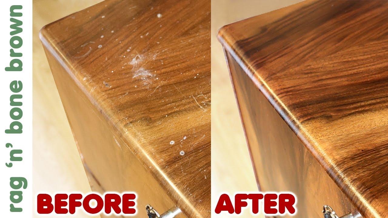 Restoring A Cocktail Cabinet Veneer Repair