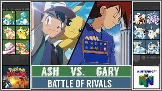 Ash Ketchum vs. Gary Oak (Pokémon Stadium) - Kanto Rival Battle