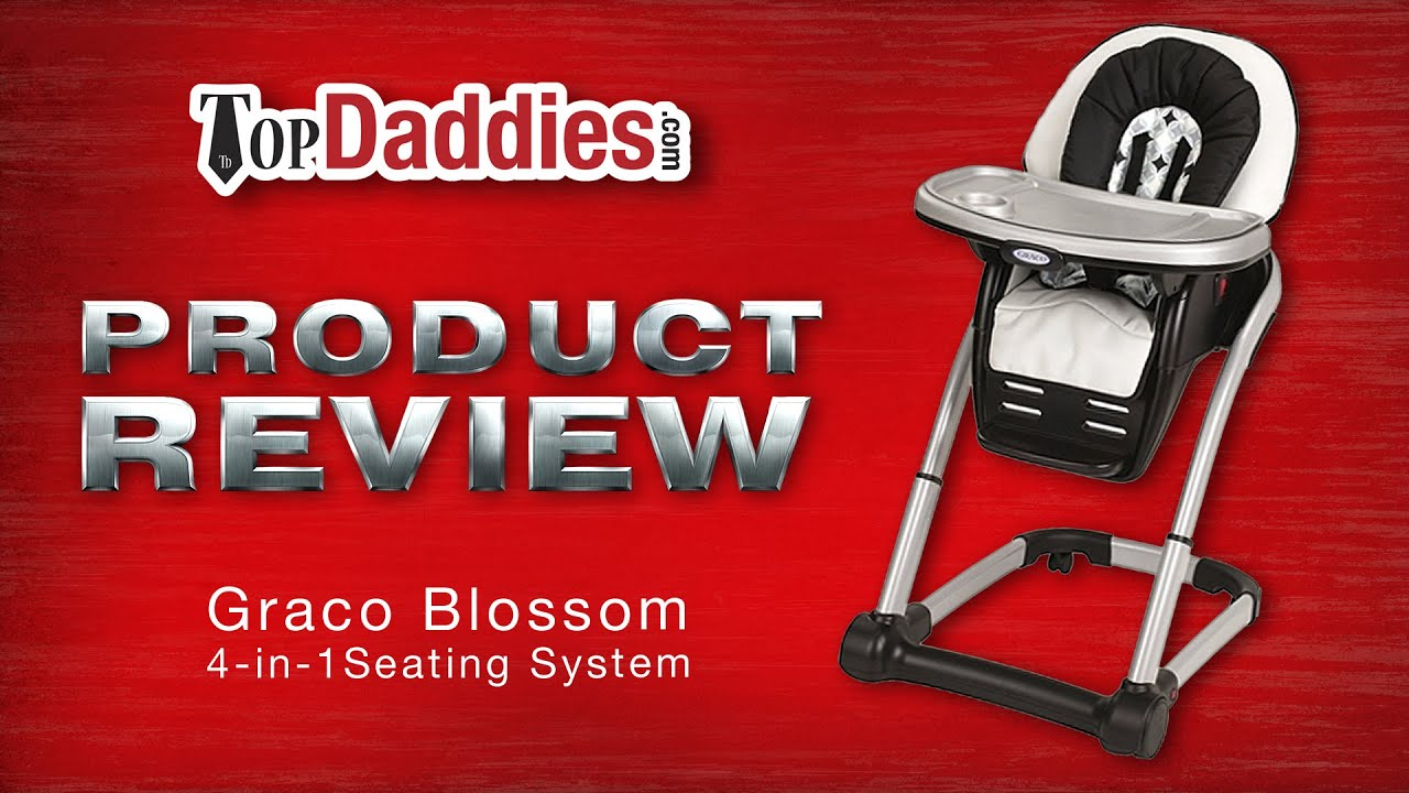 Graco Blossom 4 in 1 Seating System Highchair Review