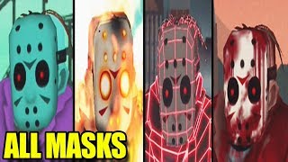 FRIDAY THE 13TH KILLER PUZZLE - All Jasons Masks