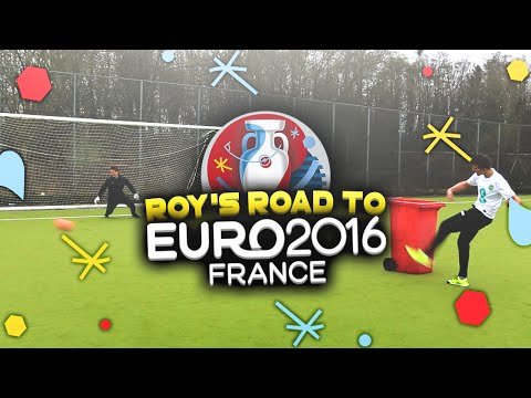 'WILFRIED ZAHA SWIVEL CHALLENGE' ROYS ROAD TO THE EUROS #3