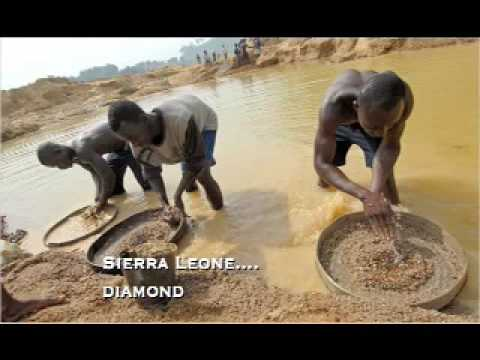 Diamond mining conditions in sierra leone giving