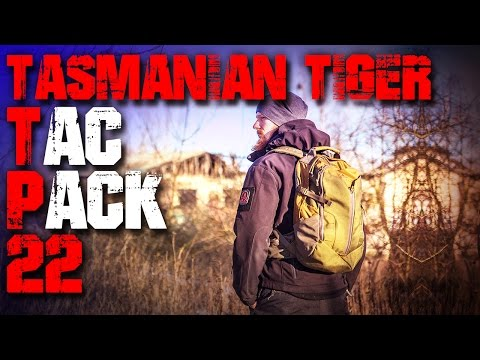 Tasmanian Tiger TT Tac Pack 22 Rucksack - Review Test (deutsch Outdoor Survival Trekking Backpacking