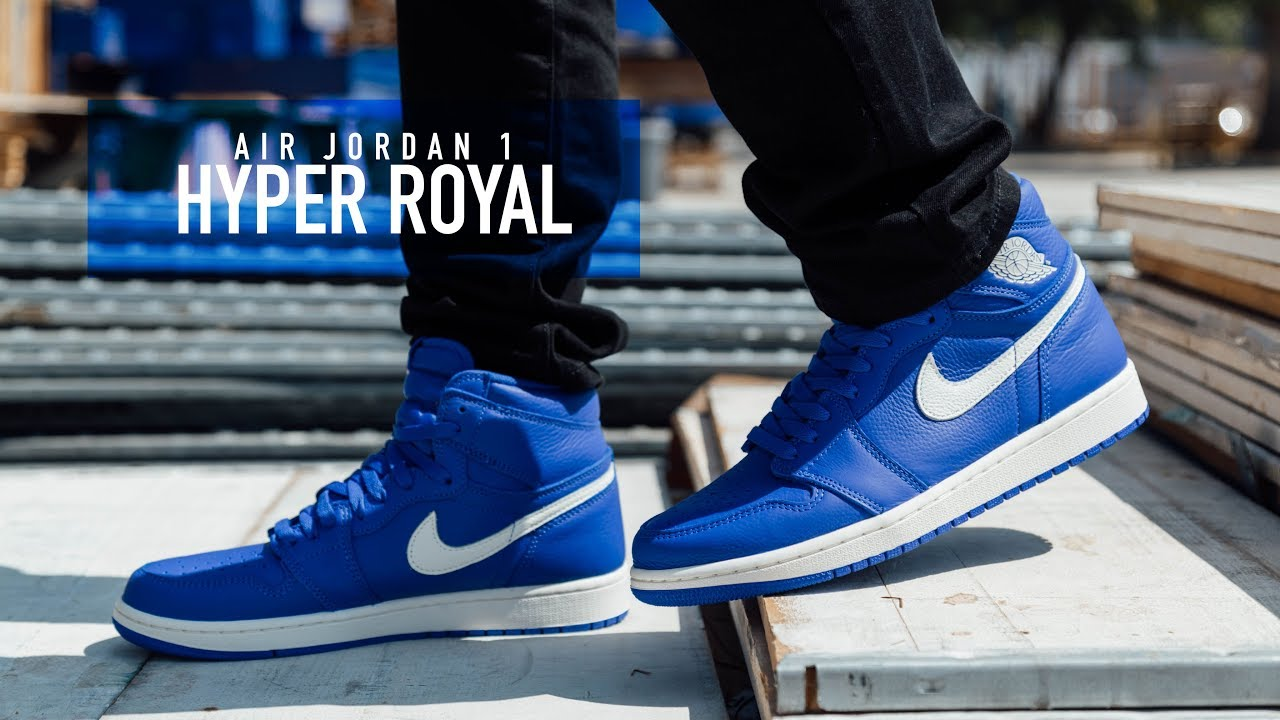 check out 72ec6 bbb53 FIRST LOOK  Air Jordan 1  Hyper Royal    SHIEKH