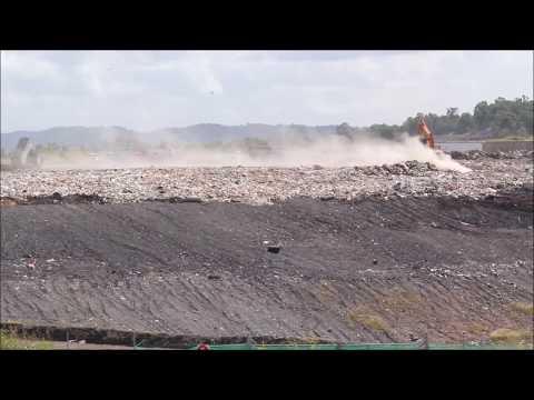 Lack of dust control at Cleanaway New Chum, Ipswich dump