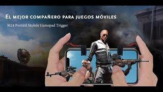 Triggers M24 Free Fire, Fortnite, PUBG MOVIL. Trigger buttons L1 R1