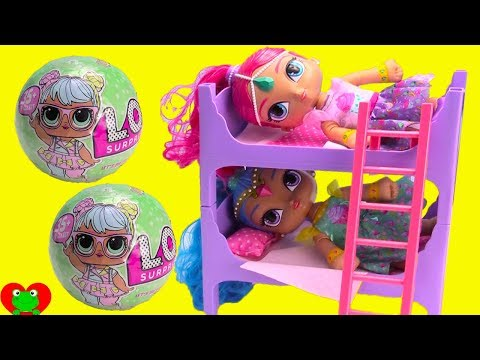 Shimmer and Shine Bunk Beds Bedtime Routine