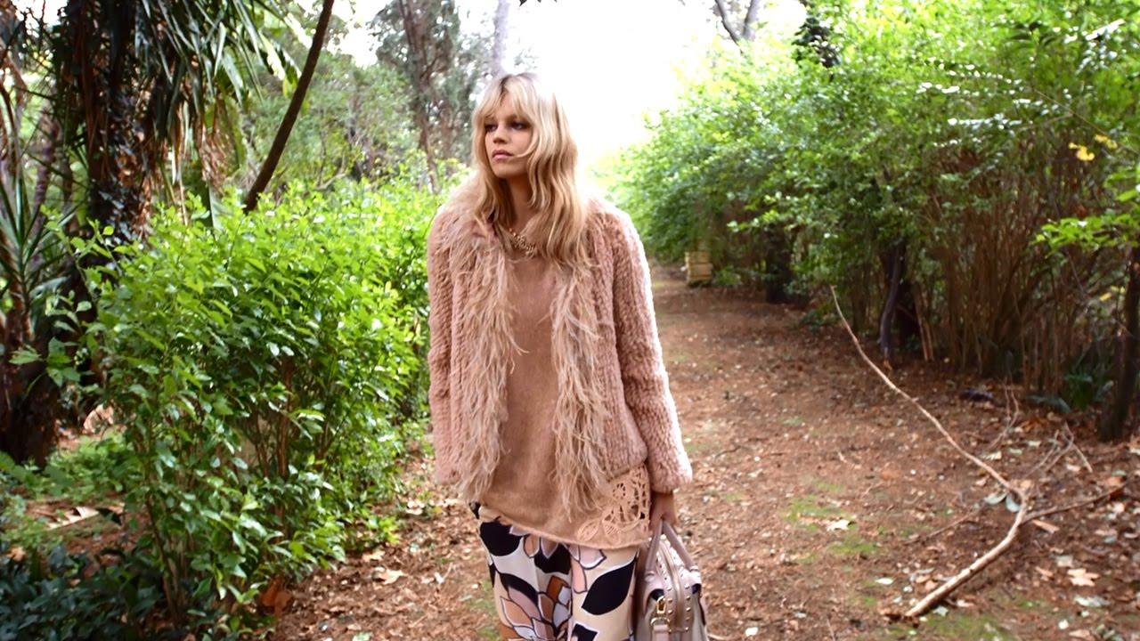 TWINSET Simona Barbieri Fall Winter 2015/16 Collection Campaign ...