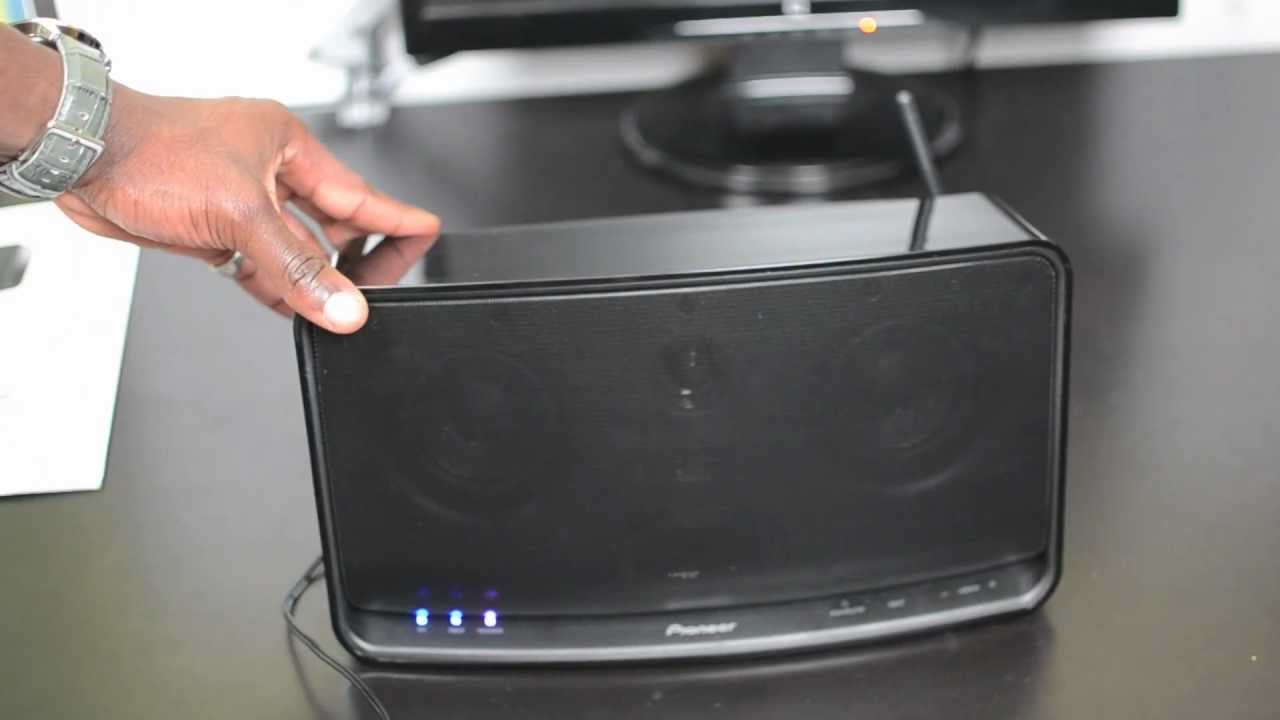 Pioneer Wireless Speaker XW-SMA10-K Unboxing & First Look