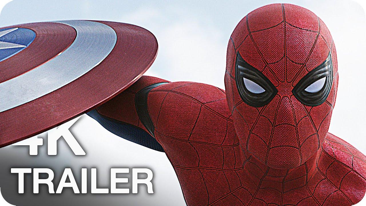Captain America Civil War 4k: CAPTAIN AMERICA 3: CIVIL WAR Trailer, Clips & Featurettes