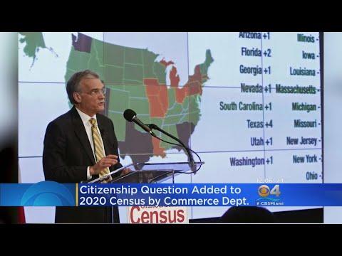 2020 Census Citizenship Question Raises Eyebrows